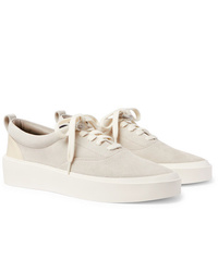 Fear Of God 101 Leather Trimmed Suede Sneakers