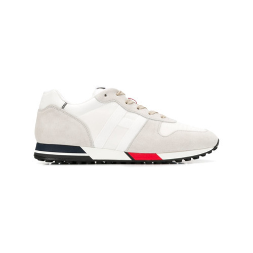 Hogan Panel Lace Up Sneakers