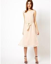 Beige midi dress original 9936464
