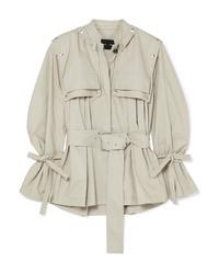 Proenza Schouler Cotton Blend Gabardine Jacket