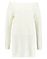 Missguided Ayvan Jumper Dress Cream