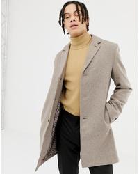Harry Brown Premium Wool Blend Classic Overcoat