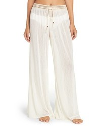 Robin Piccone Mesh Cover Up Pants