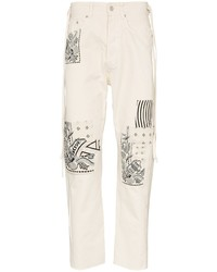 Vyner Articles Patchwork Jeans