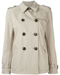 Woolrich Cropped Trench Coat