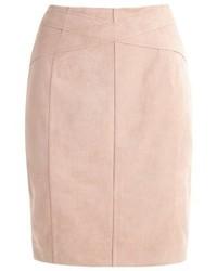 Pencil skirt sand medium 3905601