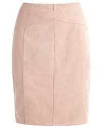 Comma Pencil Skirt Sand