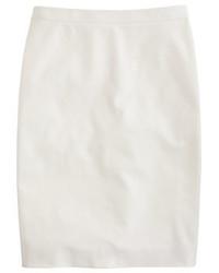 J.Crew Petite Pencil Skirt In Stretch Cotton