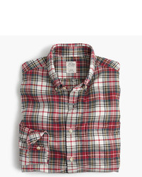3dc25f005763 ... J.Crew Slim Oxford Shirt In Stewart Tartan