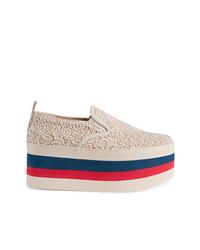 Gucci Lace Platform Sneaker