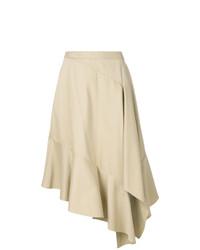 Asymmetric midi skirt medium 7989046