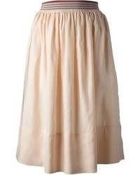 Stella McCartney Pleated Midi Skirt