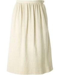 Yves vintage pleated jersey skirt medium 433504