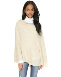 White + Warren Cashmere Two Way Angled Poncho