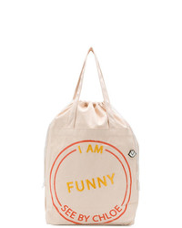 See by Chloe See By Chlo I Am Funny Tote Bag