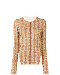 Chloé Panelled Slim Fit Sweater
