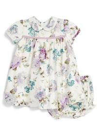 Luli & Me Infant Girls Floral Print Dress