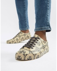 ASOS DESIGN Trainers In All Over Print