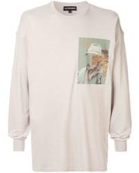 Les Benjamins Printed Long Sleeved T Shirt