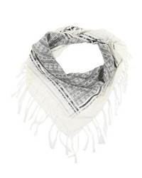 Kefia scarf whiteblack medium 4139276