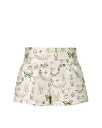 RED Valentino Insect Jacquard Shorts