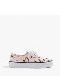 Vans Authentic Bananas Sneakers In Larger Sizes