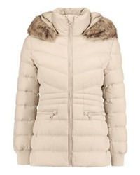 Tommy Hilfiger Coco Down Coat Beige