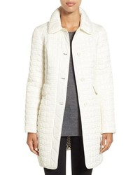 Kate Spade New York Water Resistant Quilted Coat