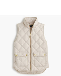 J.Crew Petite Excursion Quilted Down Vest