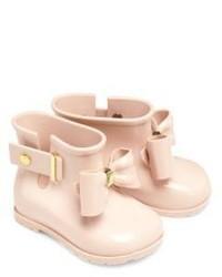 Beige Rain Boots