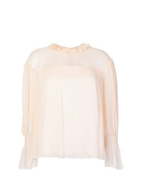 See by Chloe See By Chlo Ruffled Neck Blouse