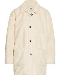 Faux shearling coat medium 367795