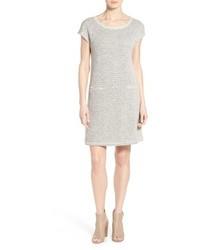 Eileen Fisher Organic Cotton Ballet Neck Shift Dress