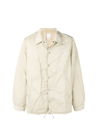 Beige Shirt Jacket