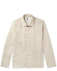 Nn07 Oscar Linen Overshirt