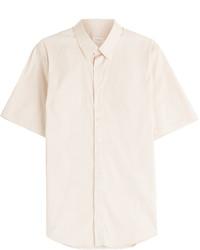 Beige Short Sleeve Shirt