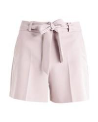 Dorothy Perkins Crepe Tie Shorts Light Brown