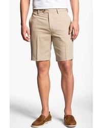 Cutter & Buck Microfiber Twill Shorts Khaki 30