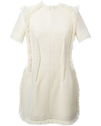 Lanvin Fringe Detail Fitted Dress