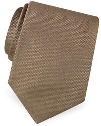 Beige Silk Tie