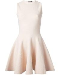 Alexander McQueen Jacquard Skater Dress