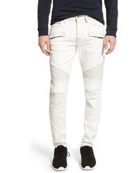 Hudson Jeans Blender Skinny Fit Moto Jeans