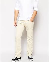 Diesel Jeans Safado Straight Fit 834j Beige Overdye