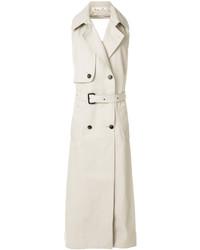 Sleeveless double breasted coat medium 6711174