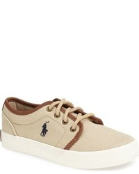 Ralph Lauren Boys Ethan Low Sneaker