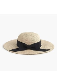 Beige Straw Hat