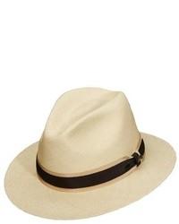 Panama straw safari hat white medium 189979