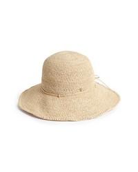 Helen Kaminski Tahana Raffia Hat Natural One Size