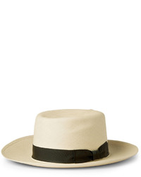 Lock & Co Hatters Woven Straw Folding Panama Hat