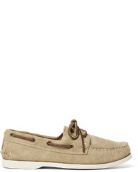 Downeast suede boat shoes medium 639564